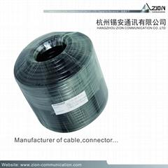 Top Quality PK-75-3-322 cctv cable BC FPE AL/Pet 51% TCCA | TC 4.50 PVC | LSZH