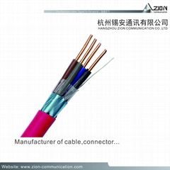 Factory High Quality FPLR-CL2P Fire Alarm Cables 14/16/18/22AWG Security SYSTEMS