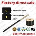 ZION GJXFH-1 FTTH Fiber Optic Drop Cable Bow Type 1 core G657A1 SM LSZH 1