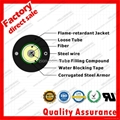 Flame retardant jacket central Loose Tube gel-filled optic fiber cable GYXTZW 1