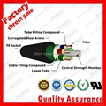 GYTS corrugated Steel armor jacket g652d stranded optic fiber cable 3