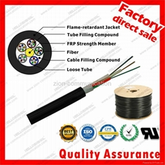 GYFTZY duct optical fiber cable non-metallic fiber optic cable for network