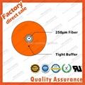 GJJV 0.9mm tight buffer fiber optic