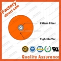 GJJV 0.9mm tight buffer fiber optic cable for network pigtail cable