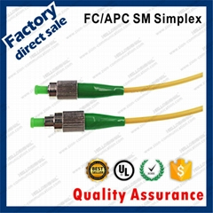 zion FC/APC connector optical patch cords 3m G652D PVC Jacket 3.0mm fiber cable