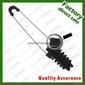 steel clamp for fiber optic cable
