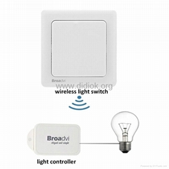 self power remote control wireless light switch for light and fan indoor outdoor