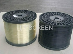 Strong Greenhouse Screen Supporting Wire 2.3x1.8mm transparent color