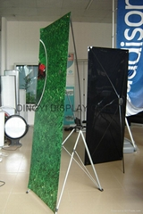 Butterfly X banner stand