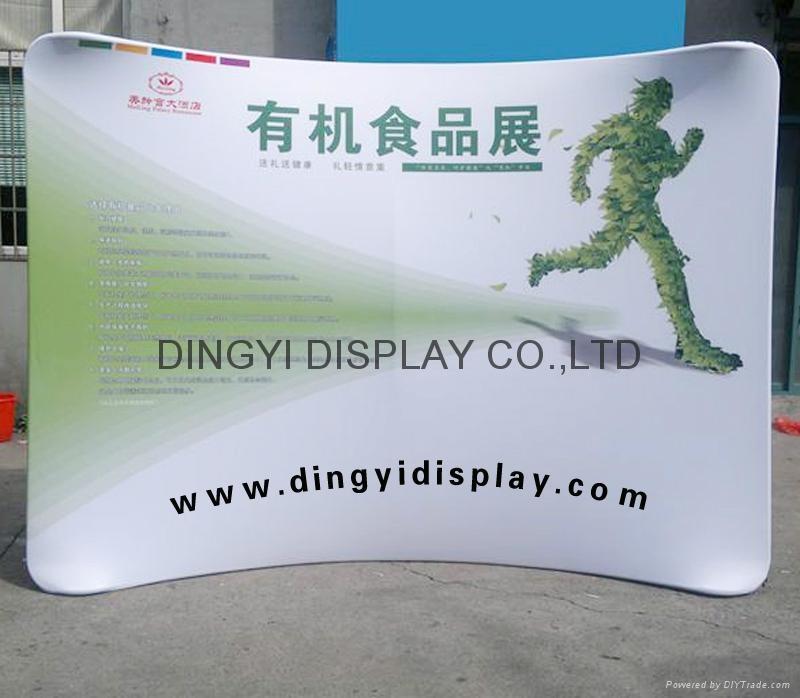 Straight shape aluminum express banner stand 3