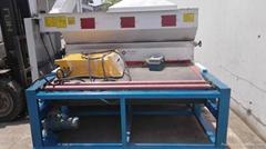 2000 width glass sand blasting machine