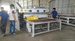 2100New type automatically glass frosting machine