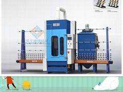 1600 Automatic sandblasting engraving machine