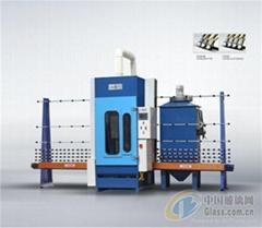 2500 Automatic sandblasting engraving machine
