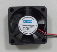 30mm 3cm 5v 12v dc fan motor 3010 30x30x10mm