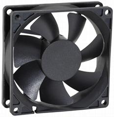 80mm 8cm 12v 24v brushless dc fan 8025 80x80x25mm