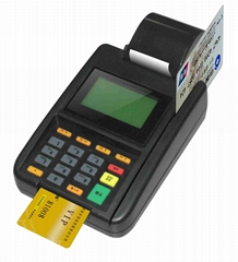 Credit card machine plas