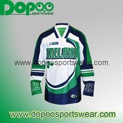 Sublimated wholesale custom hockey jersey