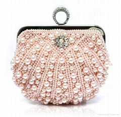 Satin Beaded Evening Clutch Purse Hand bag Elegant evening bags,purses,gift bag