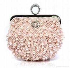 Satin Beaded Evening Clutch Purse Hand bag Elegant evening bags,purses,gift bag