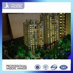 3d model makers making residential building model