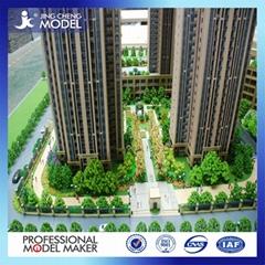 Architectural models lights Building model making