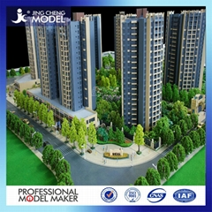 Top quality Single building models miniature architectural scale models
