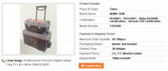 Professional Precision Digital Caliper 12kg 70 x 40 x 48cm OEM ISO9001