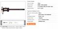 Precision 0mm - 300mm Digital Caliper Stainless Steel Solar Electronic Digital C 1