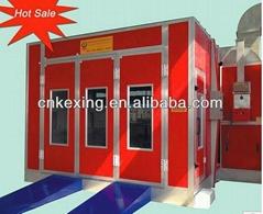 High efficiency manual car paint spray booth
