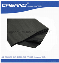 Black anti-mold wrapping tissue paper