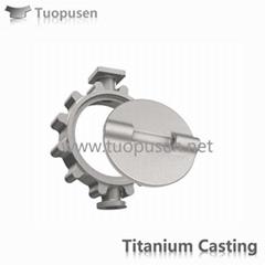 Titanium Casting sea valve ASTM B367
