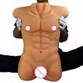 欧悦玩具女用仿真阳具器具男模半身倒模女性自慰名器成人用品 9