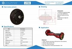 hub motor bike 48V 1500rpm