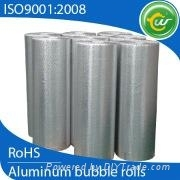 Aluminum foil heat insulation material, heat reflective