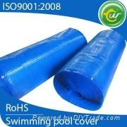 Durable ang strong plastic swimming pool cover