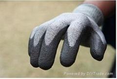 Industrial cut resistant glove