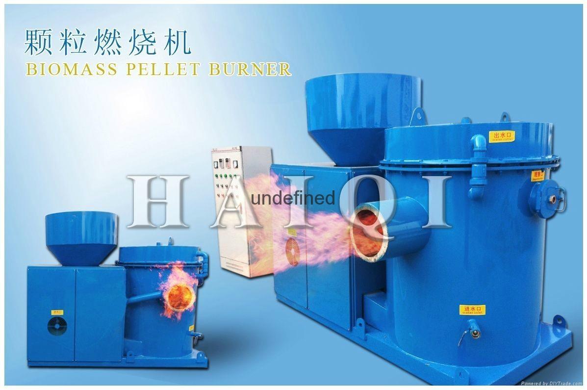 Industrial wood pellet burner for food dryer & boiler (Biomass wood pallet oven)