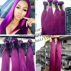 Ombre Hair Weft High Quality Virgin Remy Human Hair 8-30inch In Stock