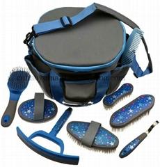 horse grooming kit horse brush bag hoof pick horse clean horse care