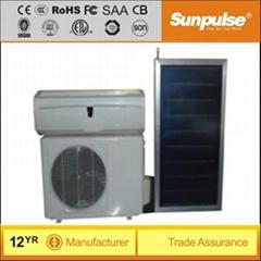 9000BTU 220V 50Hz/60Hz hybrid solar air conditioner