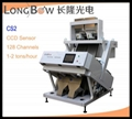 1-10 chutes optional color sorter