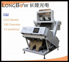 1-10 chutes optional color sorter machine