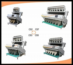 rice color sorter machine from hefei city