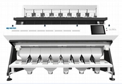 cashew grading optical sorter by color and shape