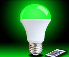 ST-QP05 IR remote control RGB light bulb
