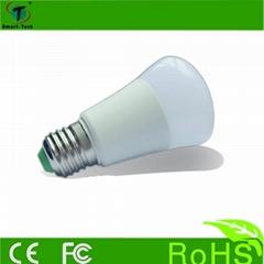 Christmas lighting E27 3w 5w color change led light bulb