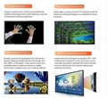 65 inch all in one wifi usb multi touch computer monitor flat panel touch screen 4