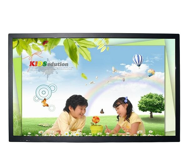 "70"" LCD finger touch interactive smart board touch screen tv 1"