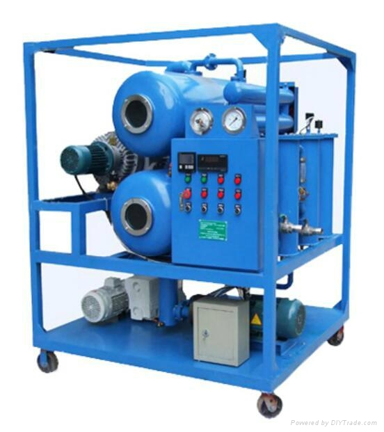 DVP Double-stage Vacuum Transformer Oil Purification 2
